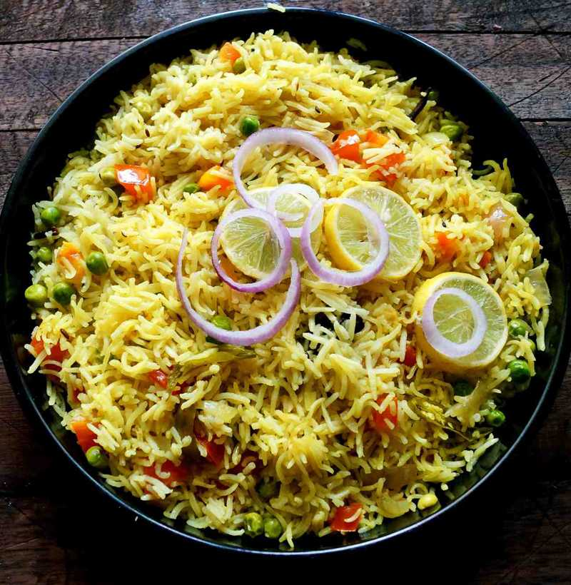 HYDERABADI VEG DUM BIRYANI(FAMILY)