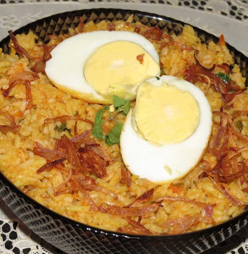 ULAVACHARU EGG BIRYANI(SINGLE )