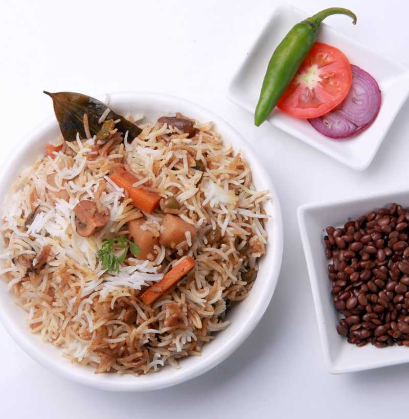 ULAVACHARU VEG BIRYANI(SINGLE )