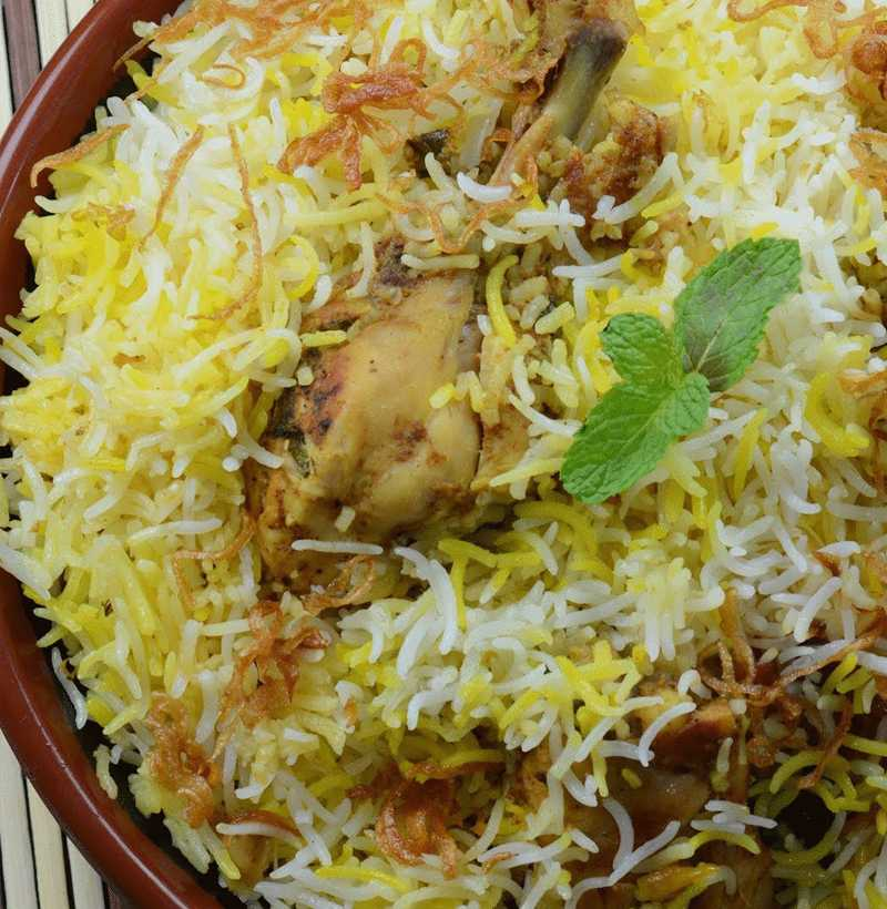 HYDERABADI CHICKEN DUM BIRYANI(SINGLE )