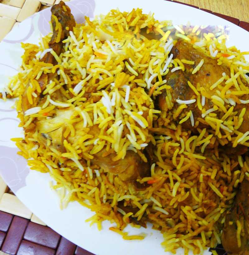 HYDERABADI CHICKEN DUM BIRYANI(FAMILY)