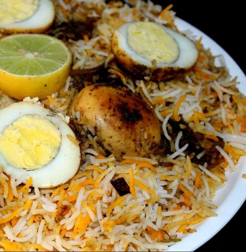 HYDERABADI EGG DUM BIRYANI(FAMILY )