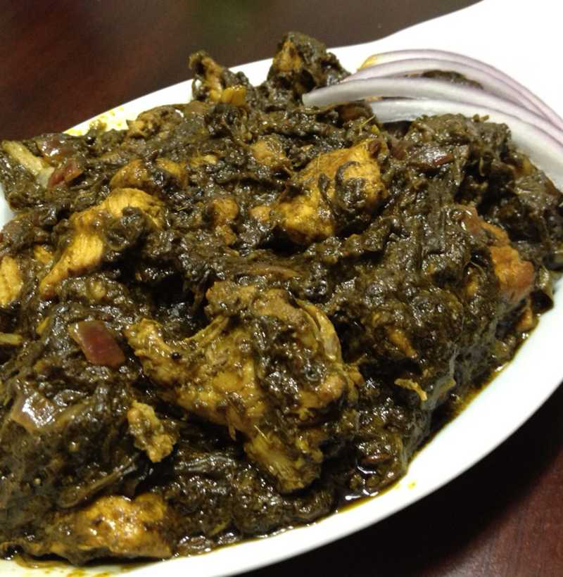 GONGURA CHICKEN CURRY